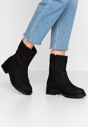 YERAVETH - Classic ankle boots - jet black