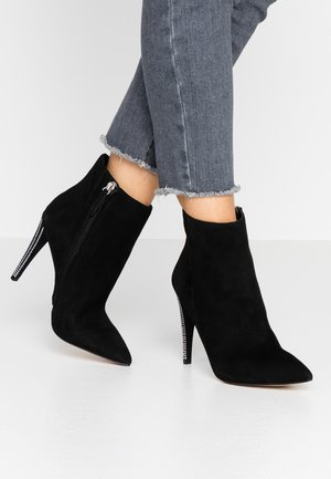 KAITY - High heeled ankle boots - black