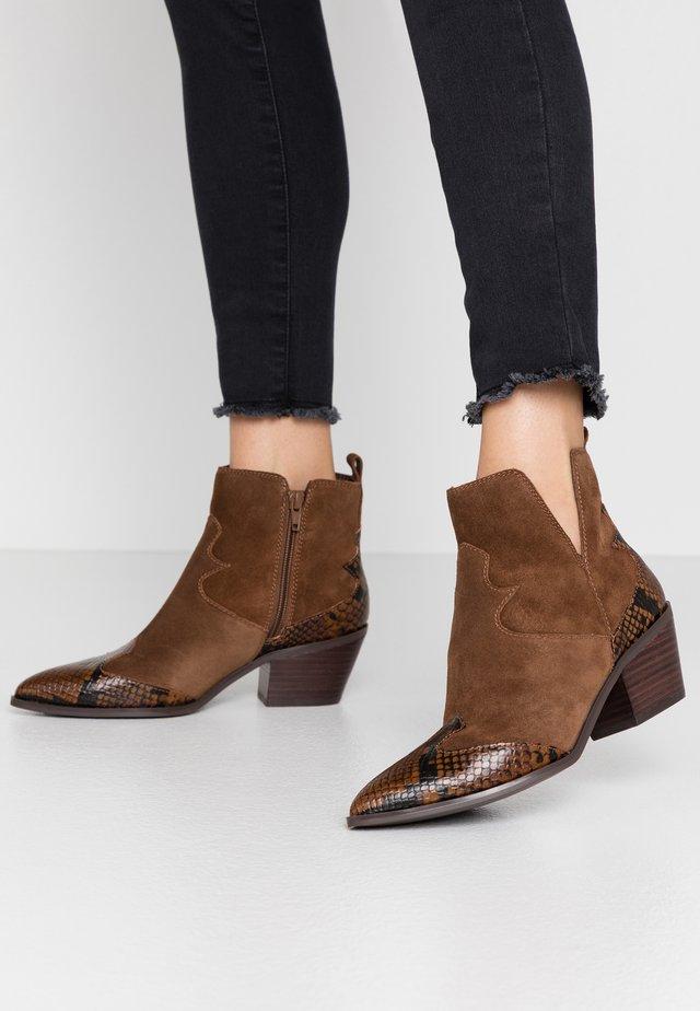 MERSEY - Ankle boot - dark brown