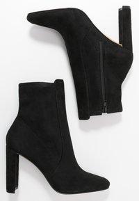 ALDO - AURELLANE - High heeled ankle boots - black - 3
