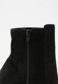 ALDO - AURELLANE - High heeled ankle boots - black - 2