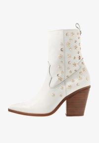ALDO - ALDO X TEZZA - Cowboy/biker ankle boot - white - 1