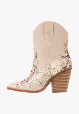 ALDO X TEZZA - High heeled ankle boots - beige