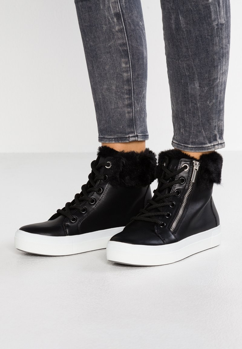 ALDO - ULALESSA - High-top trainers - black