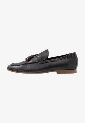 ACUVEN - Nazouvací boty - black