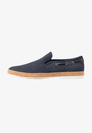 CARUFEL - Slip-ons - other navy