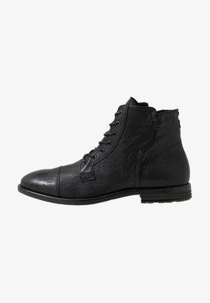 KAORERIA - Šněrovací kotníkové boty - black