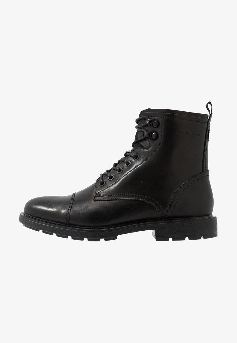 ALDO - NIGONIEL - Šněrovací kotníkové boty - black