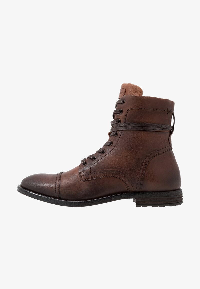 ALDO - ADREIN - Lace-up ankle boots - dark brown