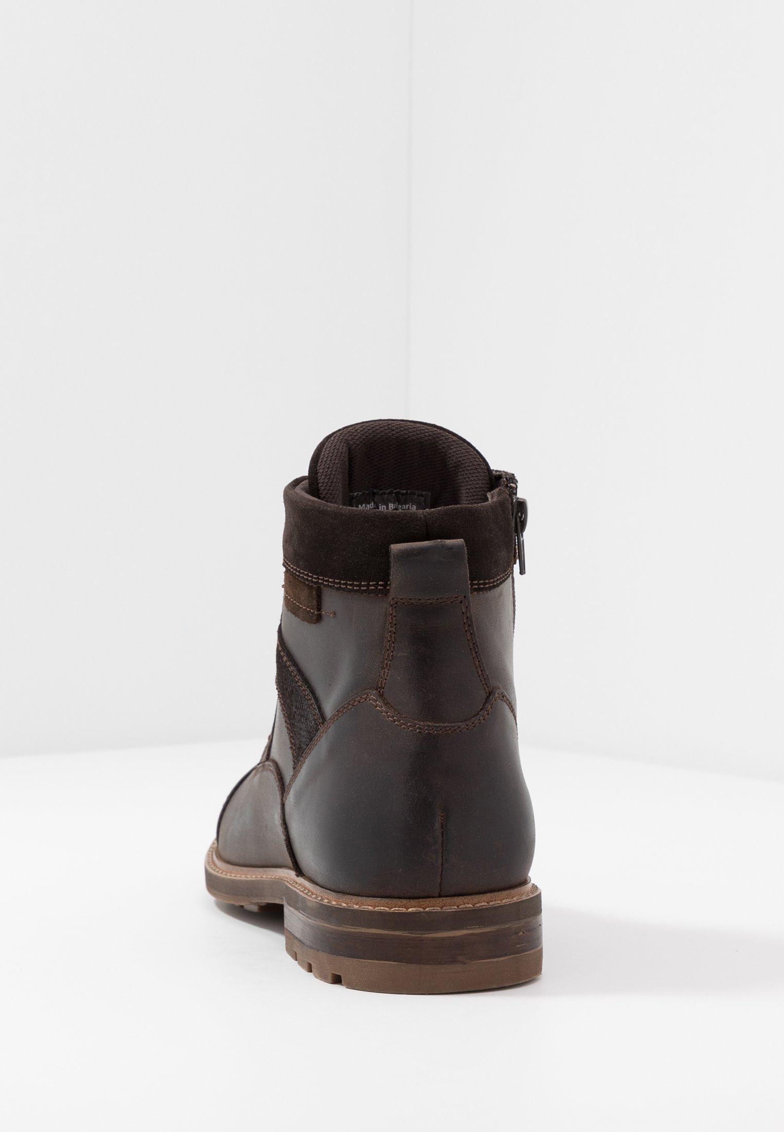 ALDO LOVENARWEN - Botines con cordones - brown