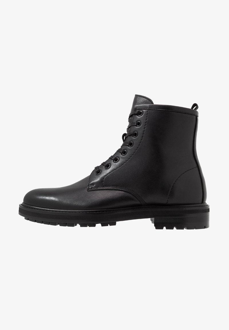 ALDO - ABIMETH - Šněrovací kotníkové boty - black