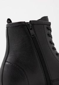 ALDO - ABIMETH - Šněrovací kotníkové boty - black - 5