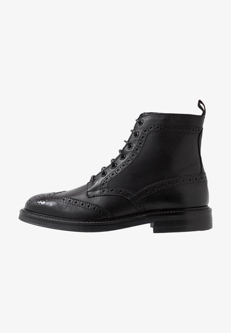 ALDO - VANELLUS - Šněrovací kotníkové boty - black
