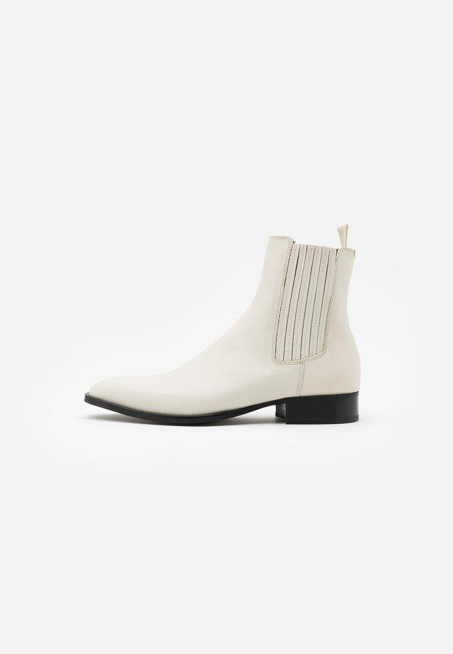 TRAMIEL - Classic ankle boots - bone