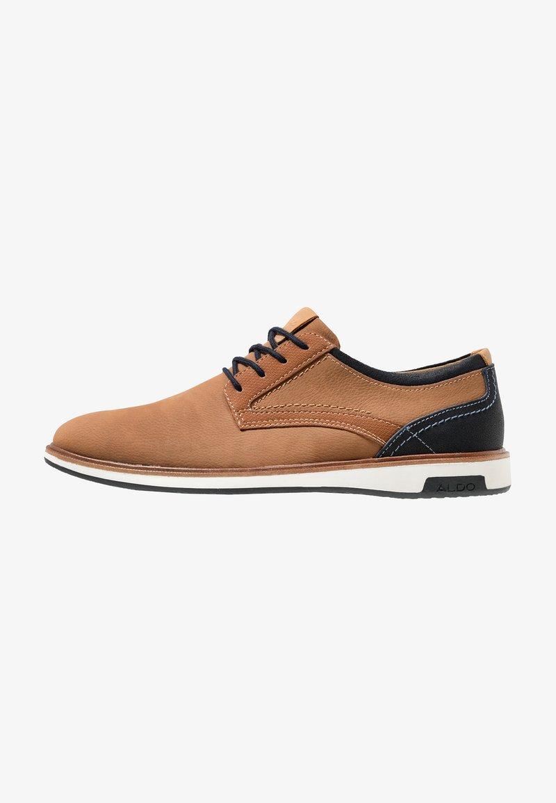 ALDO - NYDERINIA - Zapatos con cordones - cognac