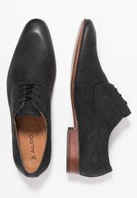 ALDO - TILAWET - Smart lace-ups - black - 1