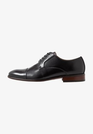 BIREVEN - Smart lace-ups - black