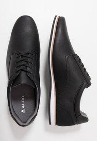 ALDO - TOPPOLE - Chaussures à lacets - black - 1