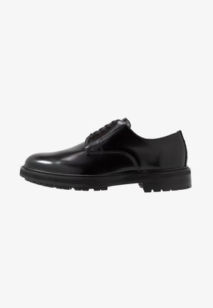 ACAUNIEL - Veterschoenen - black