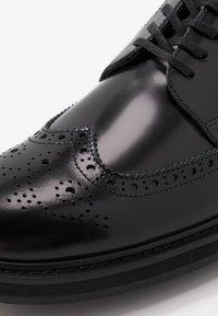 ALDO - CADIRAVEN - Lace-ups - black - 5