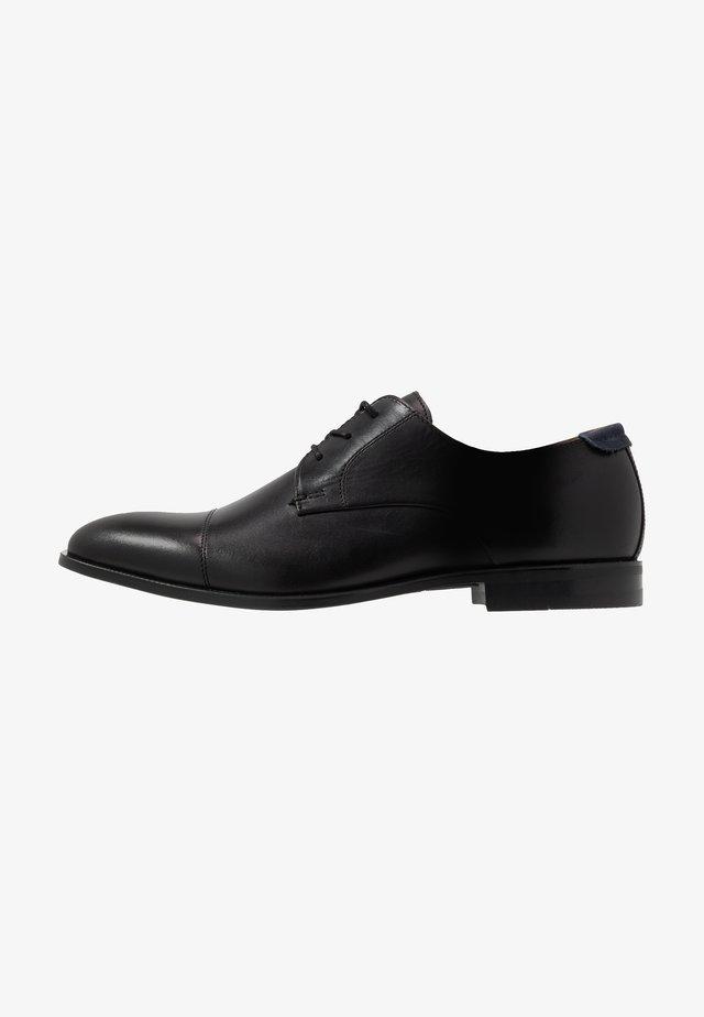 VARENI - Smart lace-ups - black