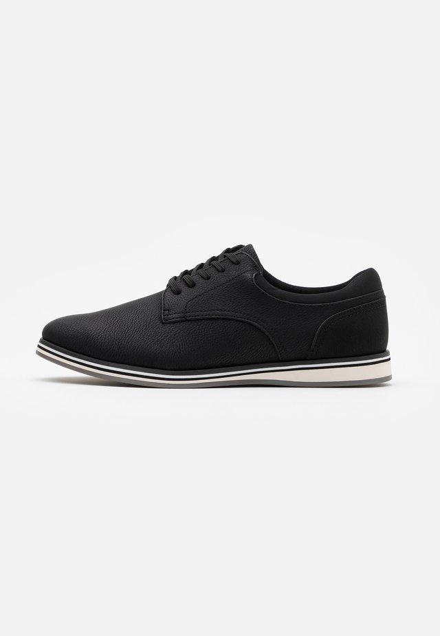 CYCIA - Chaussures à lacets - black