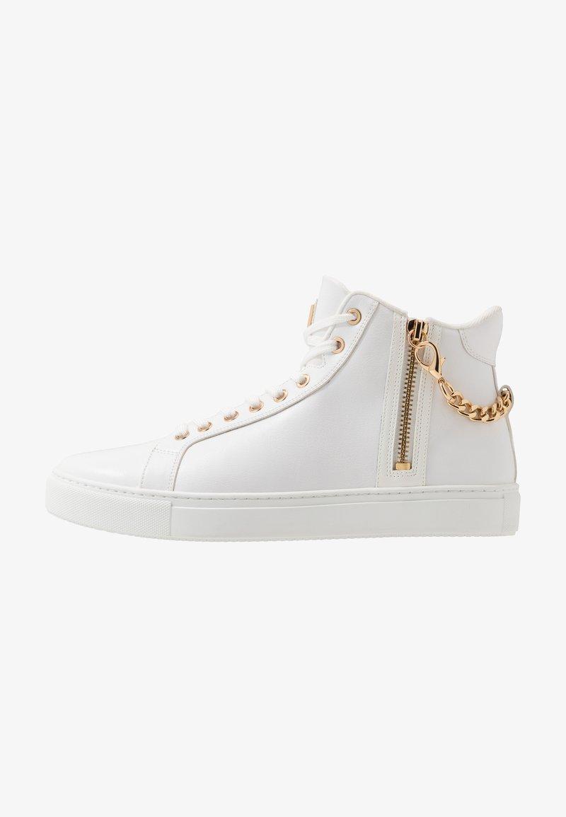 ALDO - VARVES - Sneakersy wysokie - white