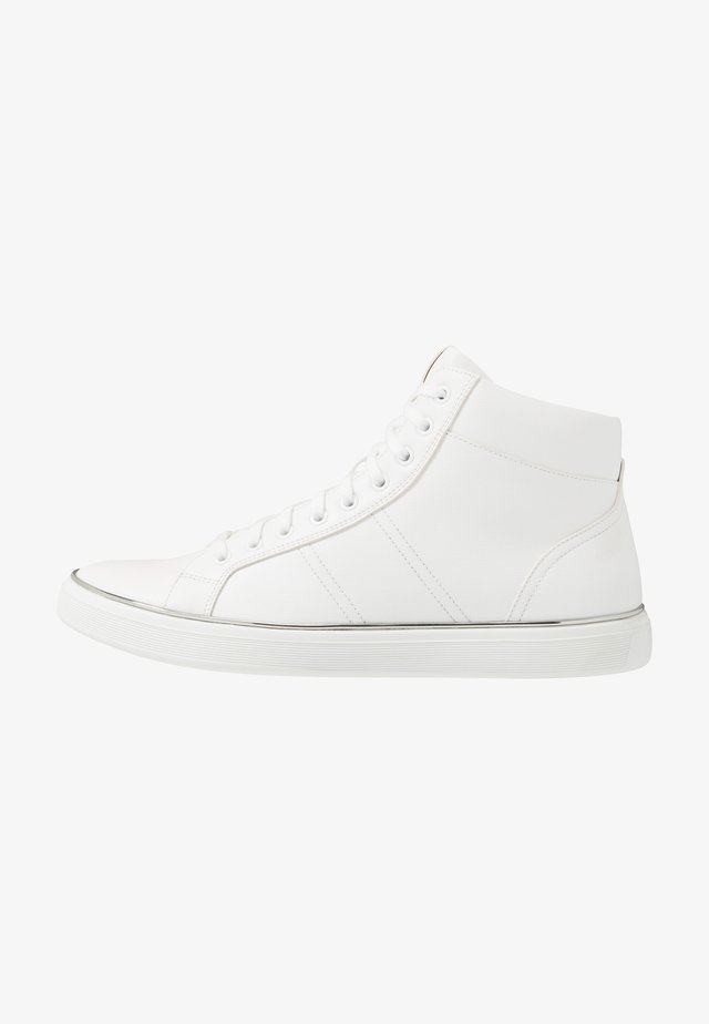 AIDEN - Korkeavartiset tennarit - white