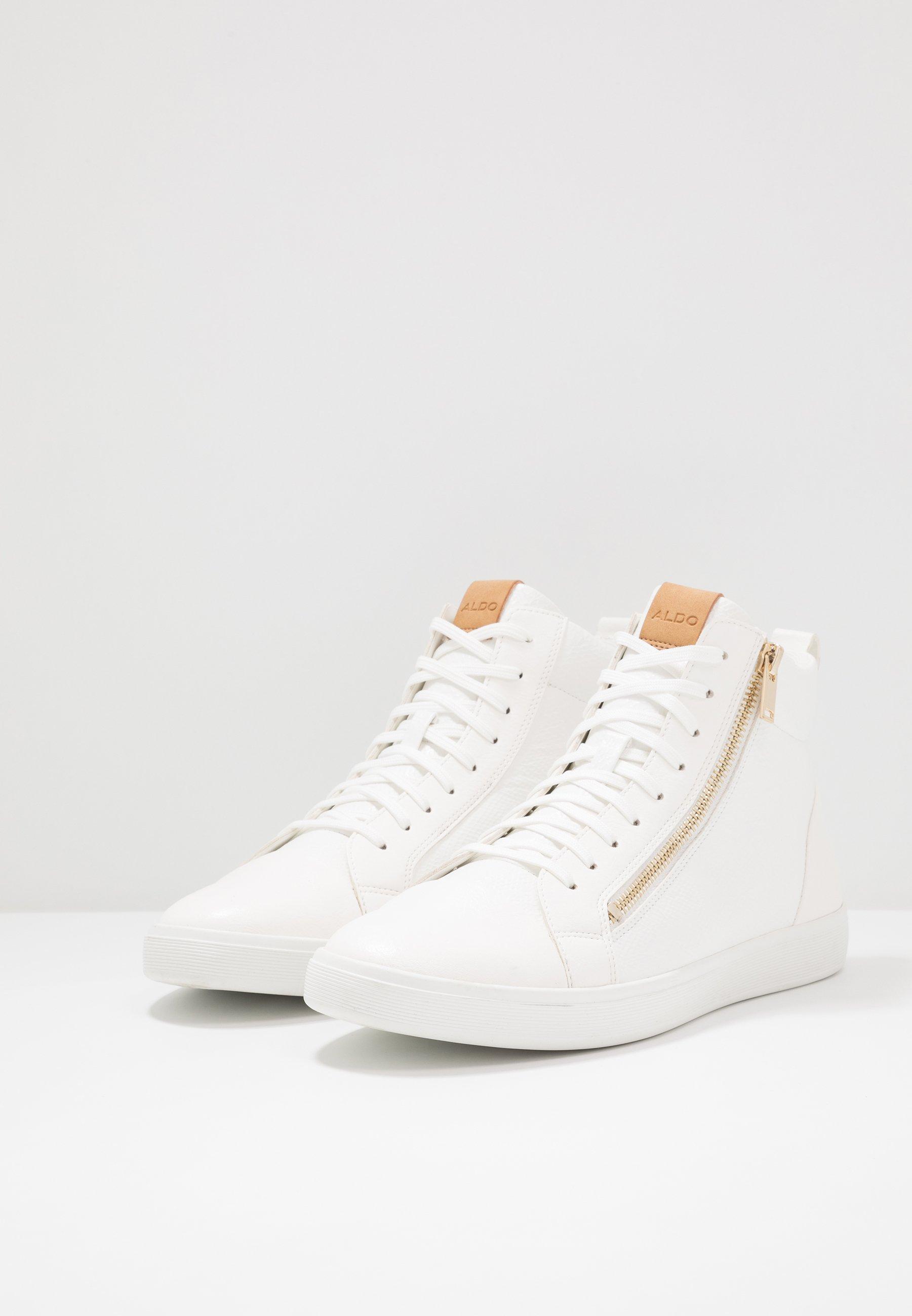 KELSTON Höga sneakers white
