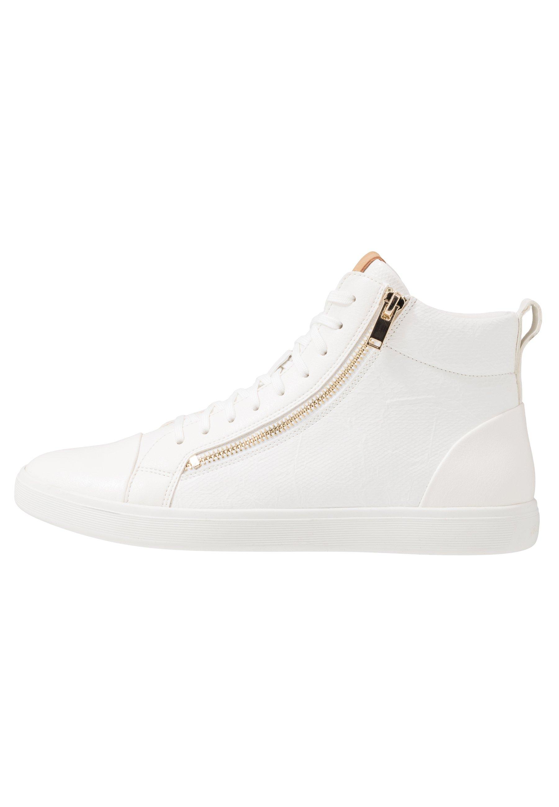 ALDO KELSTON Höga sneakers white Zalando.se