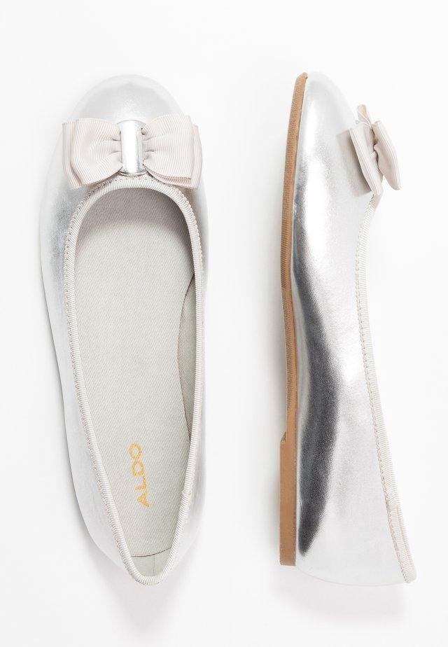 STRADINA - Ballet pumps - silver