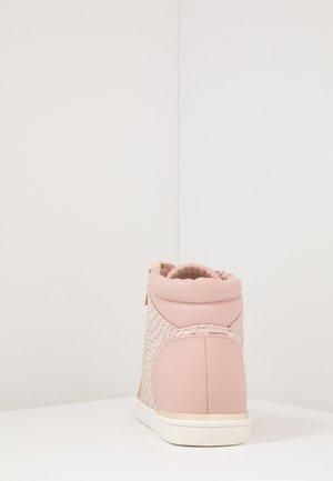 AILANNA - Vysoké tenisky - light pink