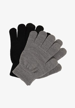 ASTAELIA 2 PACK - Fingerless gloves - black