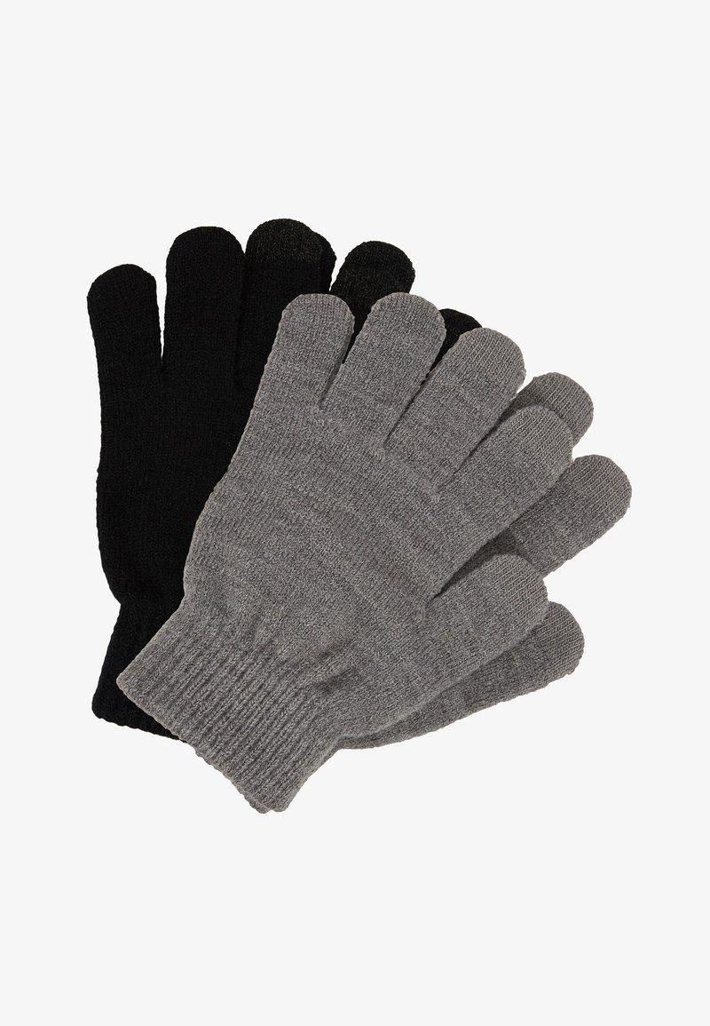 ALDO - ASTAELIA 2 PACK - Fingerless gloves - black