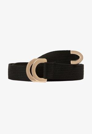 SUMANTRA - Pasek - black/gold-coloured