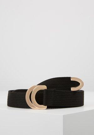 SUMANTRA - Belte - black/gold-coloured