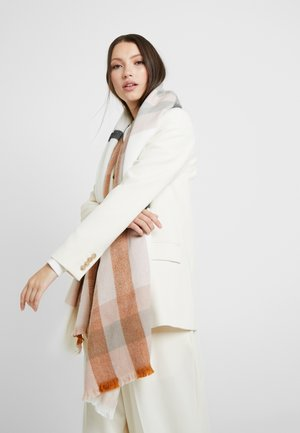 CHODDA - Scarf - winter white/blush