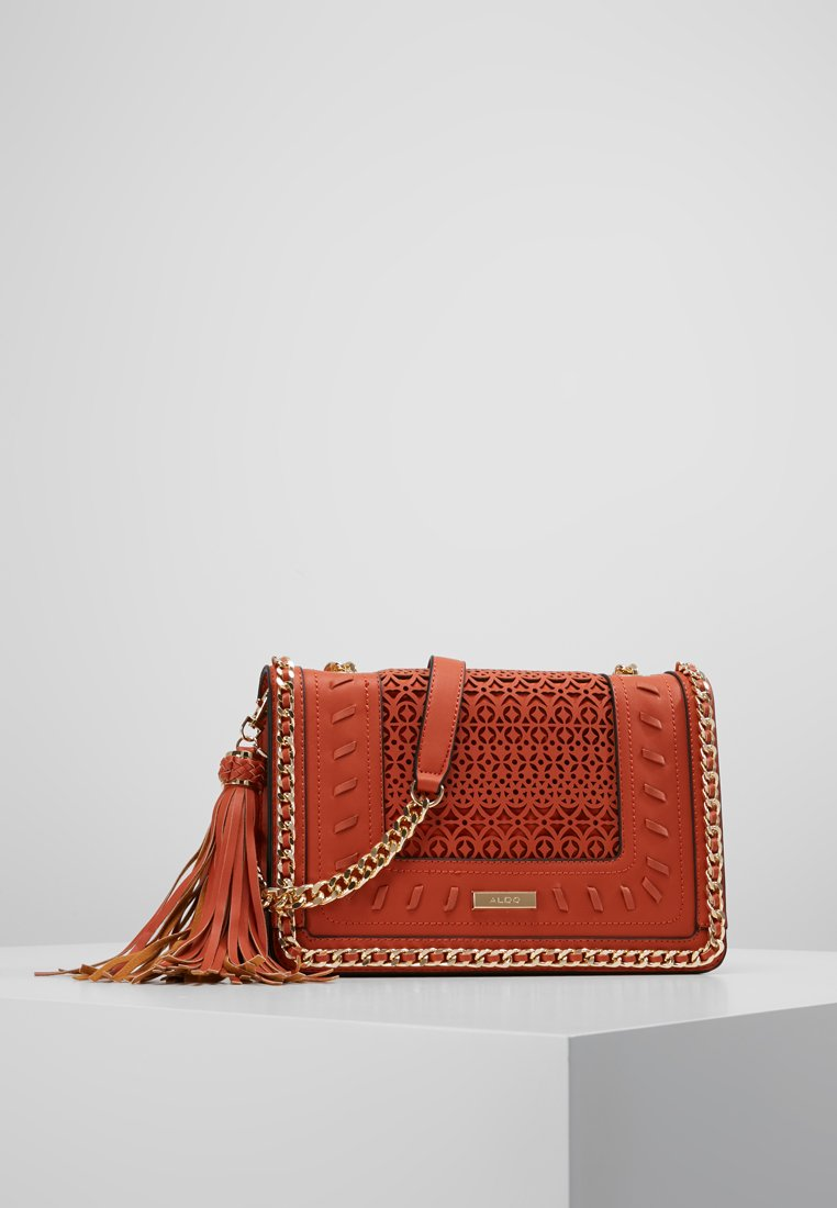 ALDO - TRENZANO - Across body bag - orange