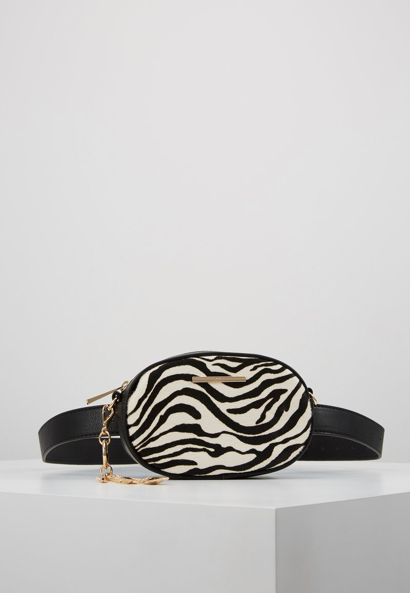 ALDO - GRABER - Bum bag - white/black