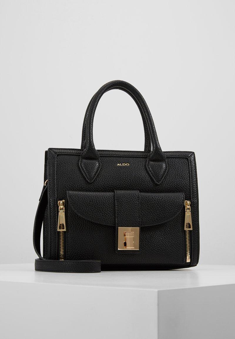 ALDO - OVAL SET - Handbag - black
