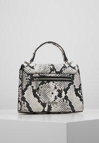 ALDO - REATHIEL - Håndtasker - black/white - 2