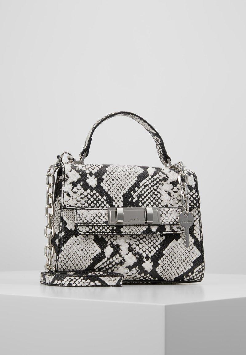 ALDO - REATHIEL - Håndtasker - black/white
