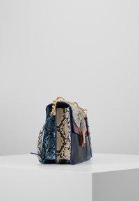 ALDO - BISEGNA - Across body bag - peacoat/gold-coloured - 4