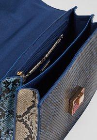 ALDO - BISEGNA - Across body bag - peacoat/gold-coloured - 5