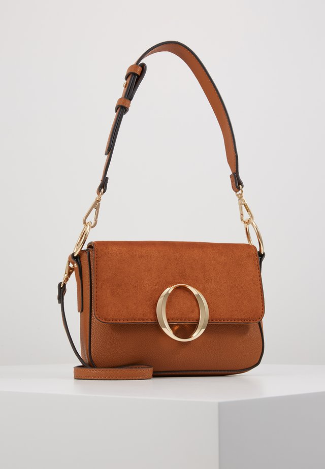 LEGELITH - Handtasche - tan/gold-coloured