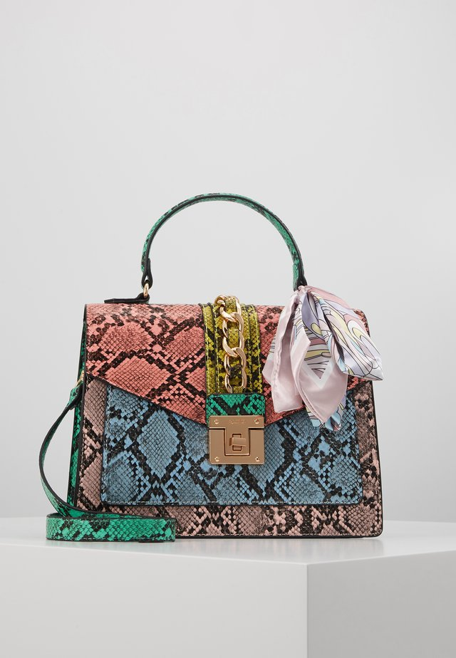 GLENDAA - Handtasche - multi/gold-coloured
