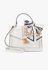ALDO - GLENDAA - Handtasche - bright white/gold-coloured - 1