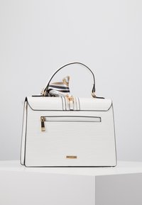 ALDO - GLENDAA - Handtasche - bright white/gold-coloured - 3