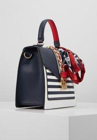 ALDO - GLENDAA - Handbag - peacoat/white/red - 4