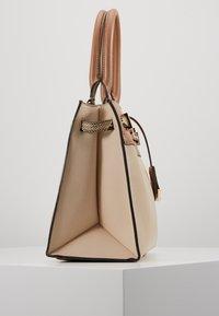 ALDO - FERMES - Handbag - nude/tan/gold-coloured - 4